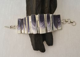 Large Linked Wampum Bracelet