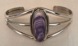 Long-Oval Wampum Bracelet