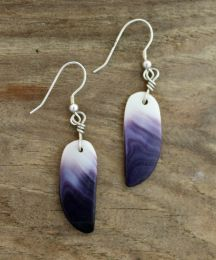 Wampum Wing Earrings