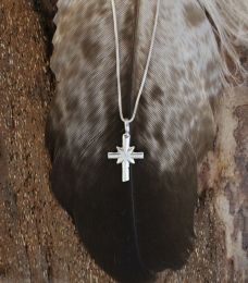 Sterling Silver Small Cross Necklace