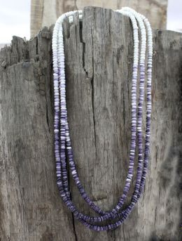 Wampum 'Corn Beads' 3-Strand Necklace