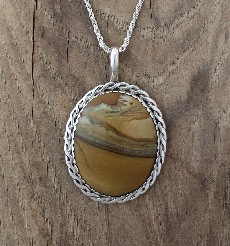 Picture jasper pendant picture jasper pendant aloadofball Images