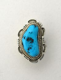 Genuine Turquoise Ring